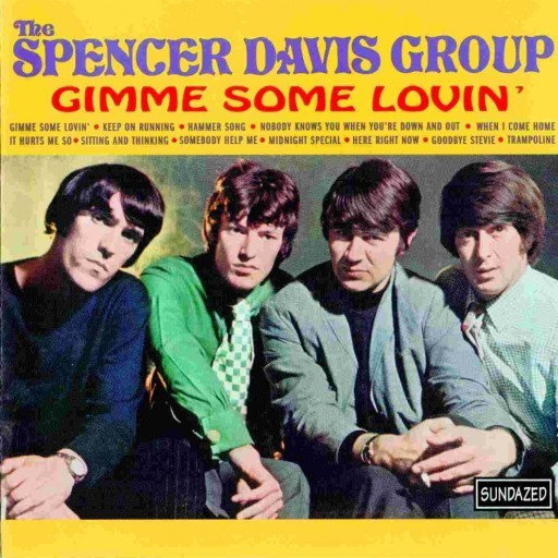 Spencer Davis Band - Gimme Some Lovin' Album Cover